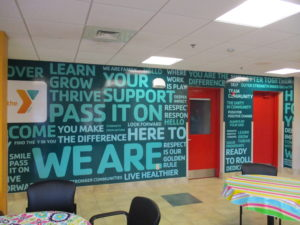 YMCA FSP Wall Graphic