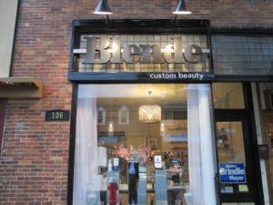 Blende Storefront Sign
