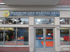 Hands of LIfe Storefront Sign