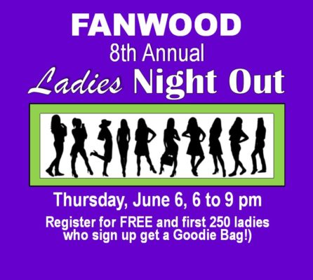 2019 Ladies night out square ladies sign up